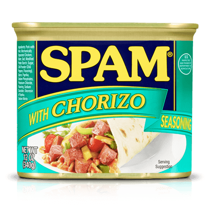SPAM® with Chorizo Seasoning