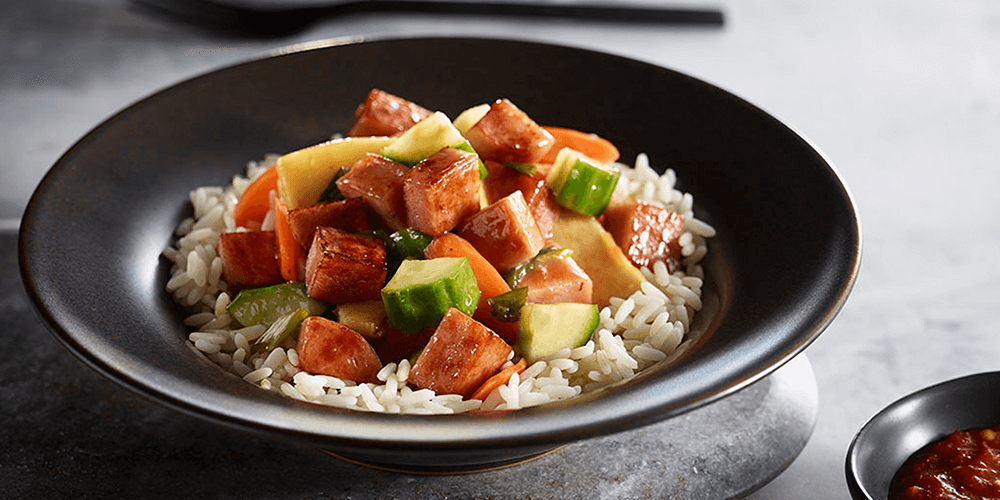 SPAM® Cantonese Sweet and Sour