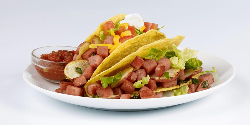 Delicious SPAM® Tacos