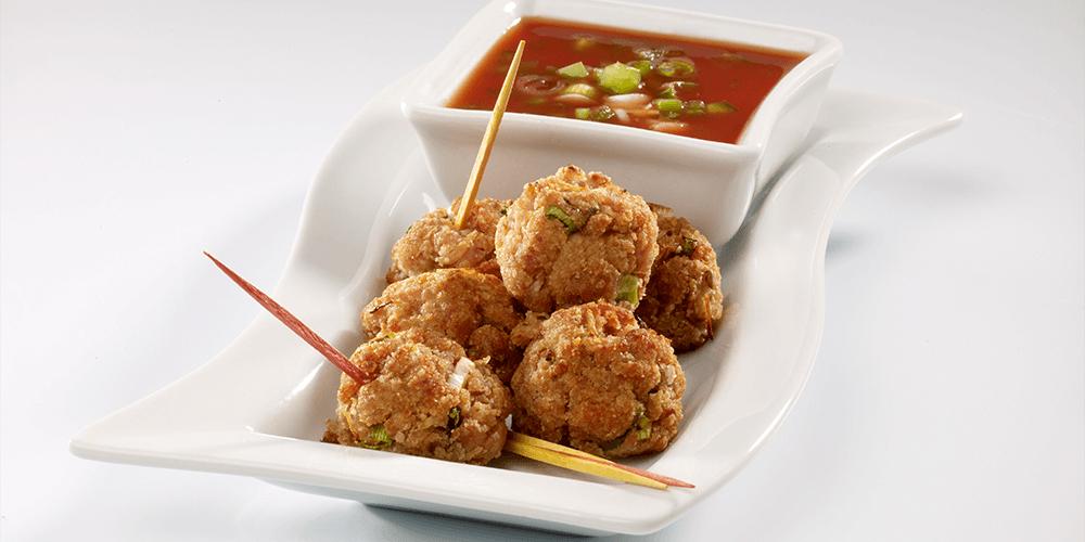 SPAM® Far East Appetizer Meatballs