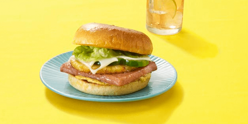 Hawaiian SPAMBURGER™ Hamburger