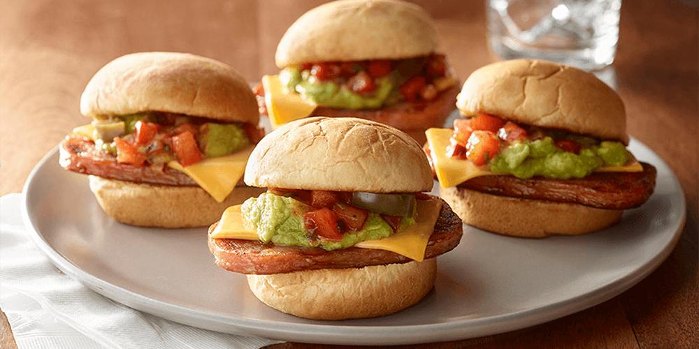 Mini SPAM® Nacho Burgers
