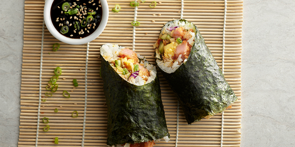 Musubi Burrito Spam Recipes