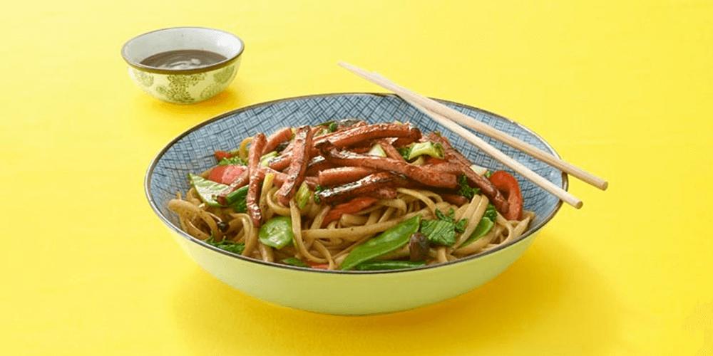 Noodlelicious SPAM® Teriyaki