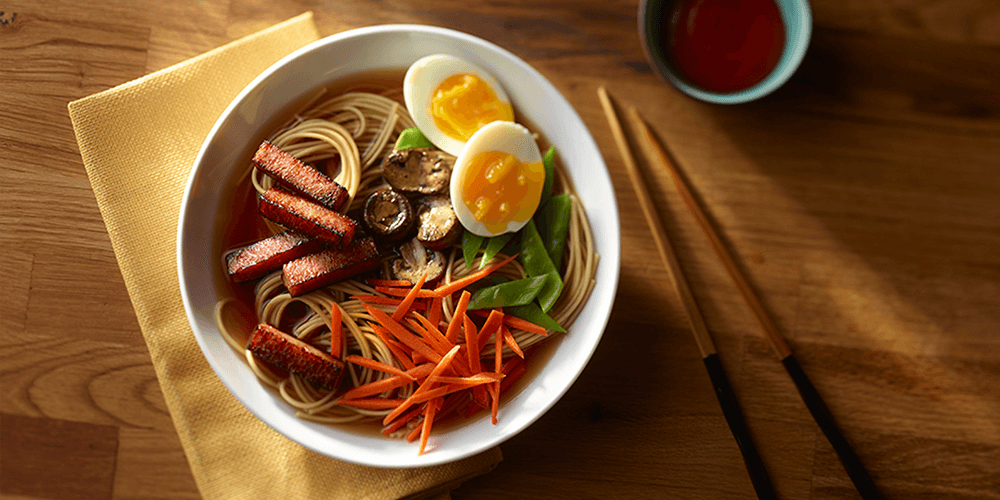 Savory SPAM® Classic with Ramen