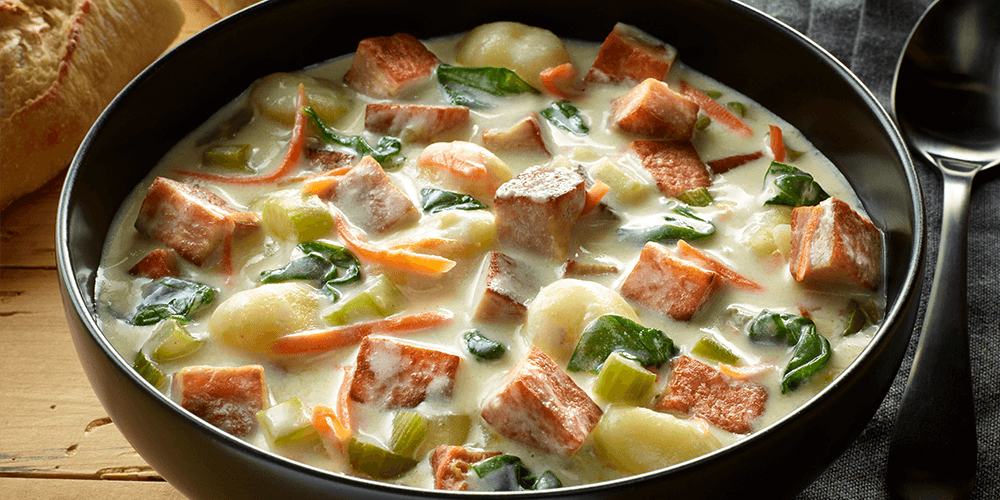 SPAM® and Gnocchi Soup