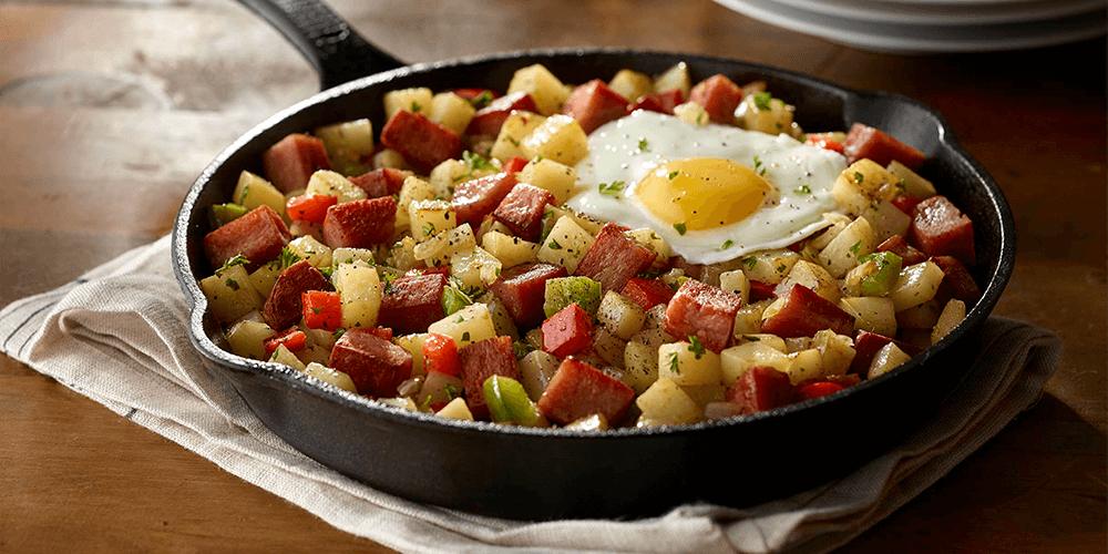 SPAM® Breakfast Hash