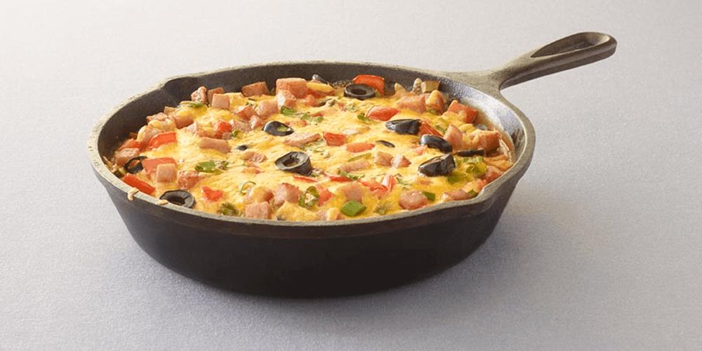 SPAM® Breakfast Pizza