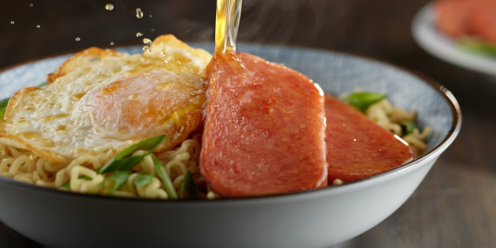 SPAM® Classic and Beef Ramen