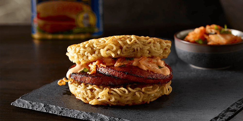 SPAM® Ramen Burger