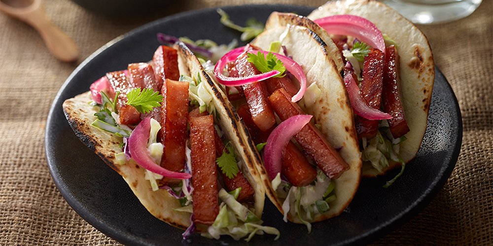SPAM® Street Taco with Red Onion & Slaw