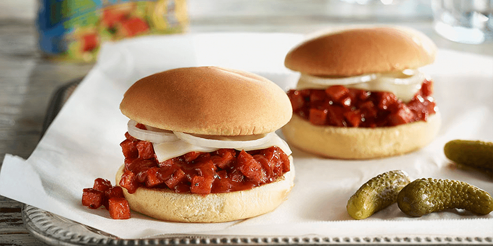SPAMBURGER™ Sloppy Joes