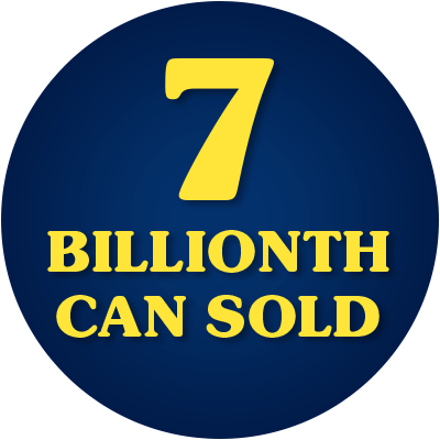 7 billionth can of SPAM products sold in 2007.