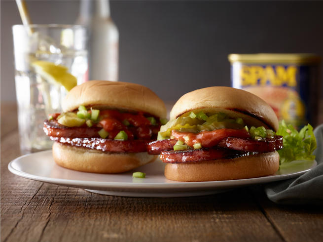 Bloody Mary Inspired SPAM® Slider