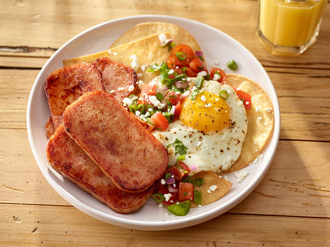 Huevos SPAM® Cheros