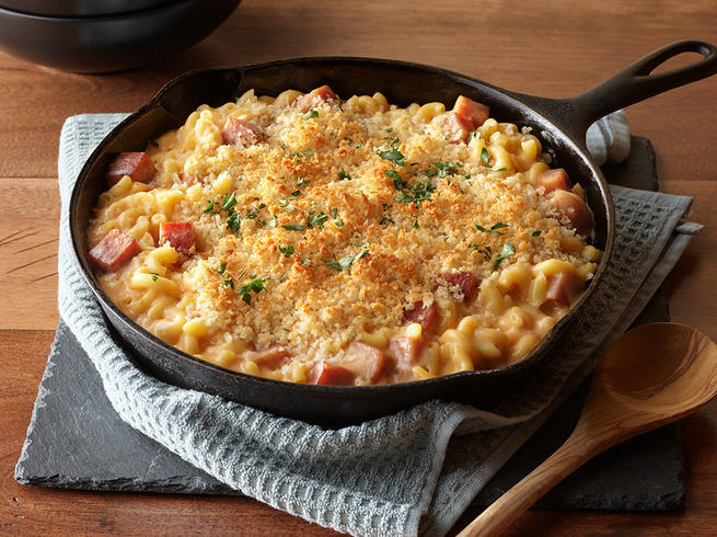 SPAM® Classic One Skillet Mac and Cheese