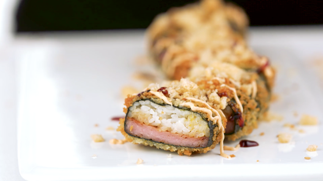 SPAM® Musubi Crunchy Roll