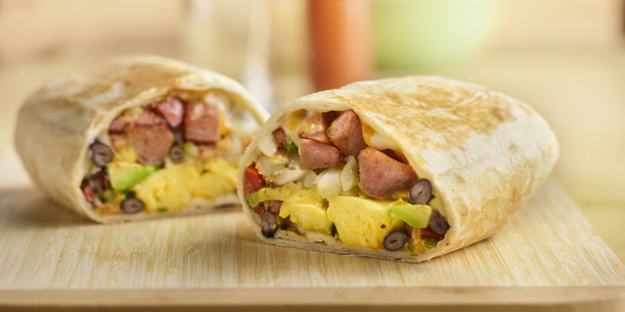 SPAM<sup>®</sup> Breakfast Burritos