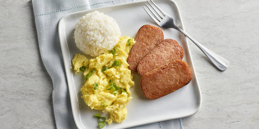 SPAM<sup>®</sup> Eggs and Rice